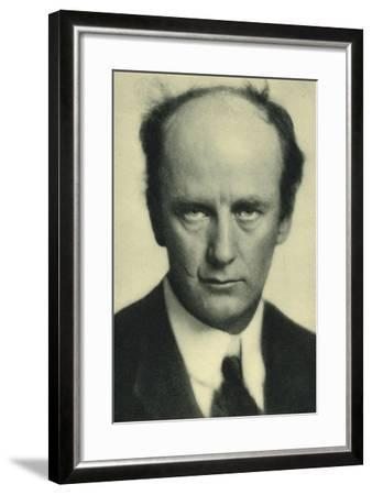 Wilhelm Furtwangler, German Conductor and Composer--Framed Photographic Print
