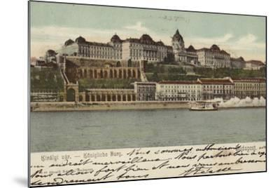 Postcard Depicting the Hungarian Parliament Building--Mounted Photographic Print