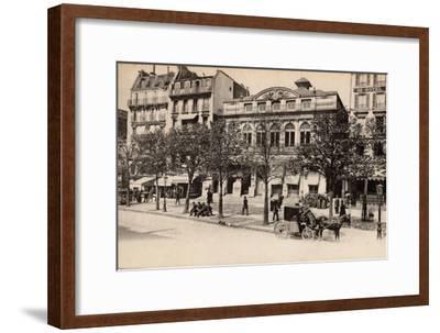 Théâtre Du Gymnase, Boulevard Bonne-Nouvelle, Paris, 1890--Framed Photographic Print