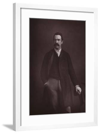 William Martin Conway, English Art Critic, Politician and Mountaineer--Framed Photographic Print