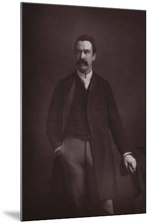 William Martin Conway, English Art Critic, Politician and Mountaineer--Mounted Photographic Print