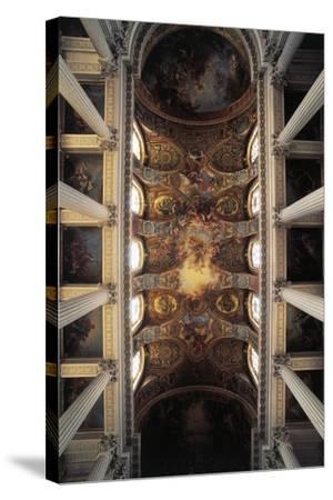 View of Vault of Royal Chapel, Palace of Versailles--Stretched Canvas Print