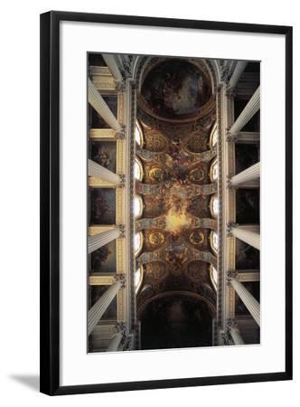 View of Vault of Royal Chapel, Palace of Versailles--Framed Photographic Print
