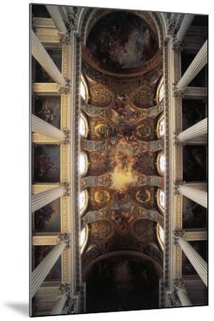 View of Vault of Royal Chapel, Palace of Versailles--Mounted Photographic Print