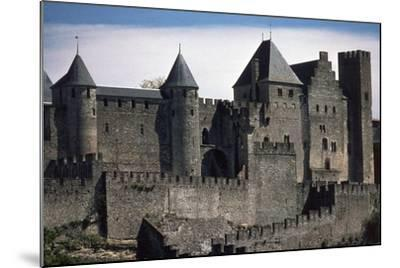 Double Boundary Wall of the Fortified Town, Carcassonne--Mounted Photographic Print
