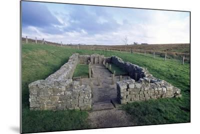 Temple of Mithras, Carrawburgh Roman Fort, Hadrian's Wall--Mounted Photographic Print
