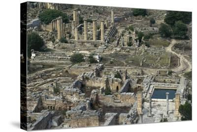 View of Sanctuary of Apollo, Greco-Roman City of Cyrene--Stretched Canvas Print