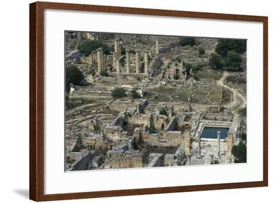 View of Sanctuary of Apollo, Greco-Roman City of Cyrene--Framed Photographic Print