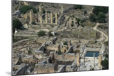View of Sanctuary of Apollo, Greco-Roman City of Cyrene--Mounted Photographic Print