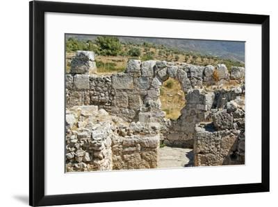 Temple of Artemis, View Through the Window, Xanthos, Turkey--Framed Photographic Print