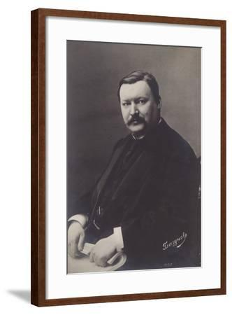 Alexander Glazunov, Russian Late Romantic Composer--Framed Photographic Print