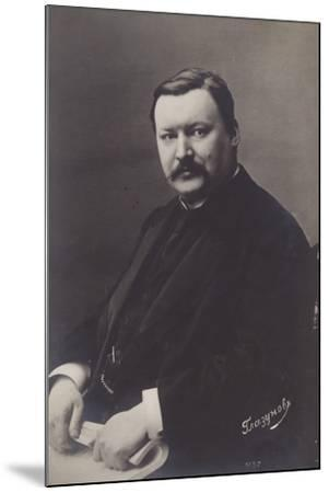 Alexander Glazunov, Russian Late Romantic Composer--Mounted Photographic Print