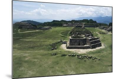 Astronomical Observatory or Building J, Archaeological Site of Monte Alban--Mounted Photographic Print