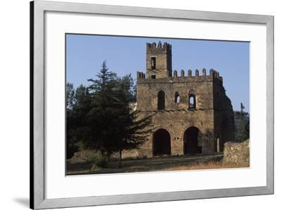 Imperial Enclosure and Gate of Yohannes I, Gondar--Framed Photographic Print