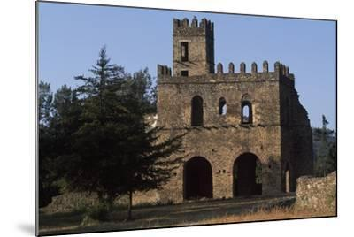 Imperial Enclosure and Gate of Yohannes I, Gondar--Mounted Photographic Print