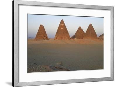 Pyramids of Black Pharaohs, Gebel Barkal and Sites of Napatan Region--Framed Photographic Print