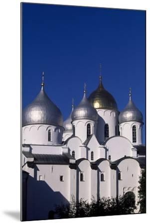 Cupolas of St Sophia Cathedral, 1045-1050--Mounted Photographic Print