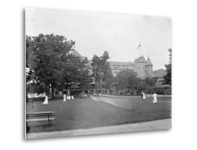 Manhasset, Tennis at Manhanset House, Shelter Island, N.Y., C.1904--Metal Print