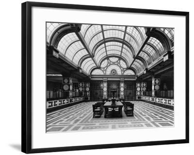 Entrance Hall of the Czechoslovak Legions Bank, Prague, C.1926--Framed Photographic Print