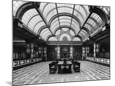 Entrance Hall of the Czechoslovak Legions Bank, Prague, C.1926--Mounted Photographic Print