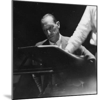 Portrait of the Russian Composer Igor Stravinsky, C.1930--Mounted Photographic Print