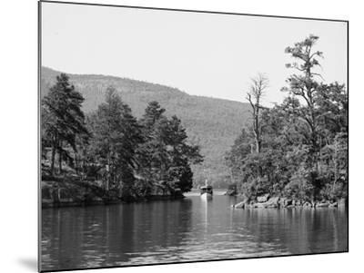 Along the Harbor Islands, Lake George, N.Y., C.1904--Mounted Photographic Print