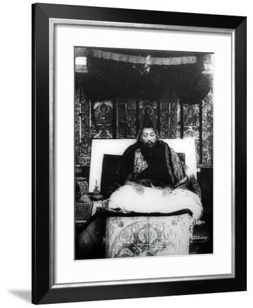 Thubten Gyatso, 13th Dalai Lama of Tibet. C.1908-21--Framed Photographic Print