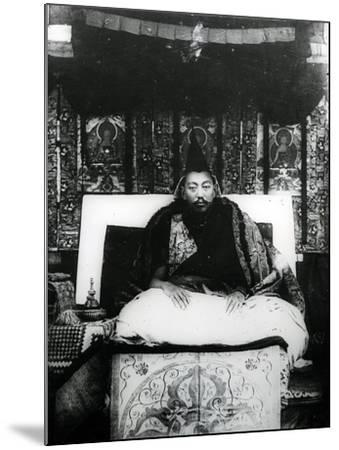 Thubten Gyatso, 13th Dalai Lama of Tibet. C.1908-21--Mounted Photographic Print