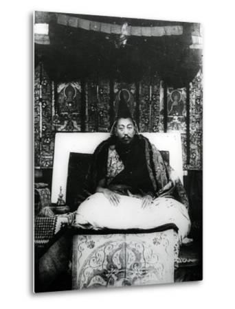 Thubten Gyatso, 13th Dalai Lama of Tibet. C.1908-21--Metal Print