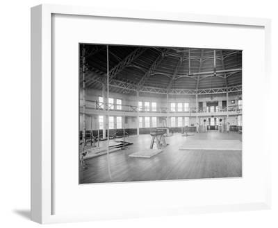 Gymnasium Interior, U.S. Naval Academy, C.1890-1901--Framed Photographic Print