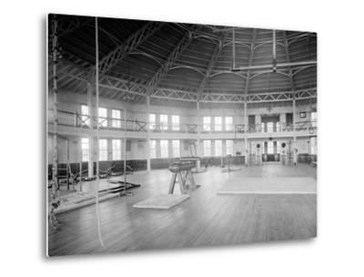 Gymnasium Interior, U.S. Naval Academy, C.1890-1901--Metal Print