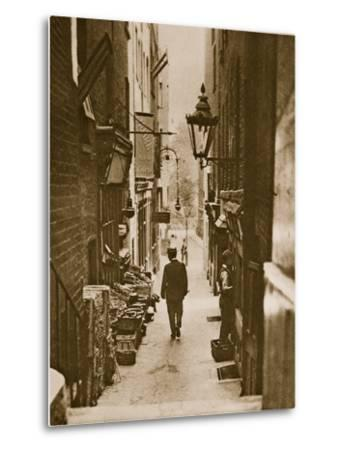 George Court, an Alleyway to the Adelphi from the Strand--Metal Print