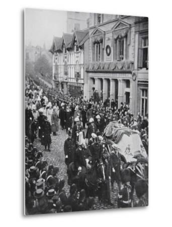 The funeral procession of Queen Victoria, Windsor