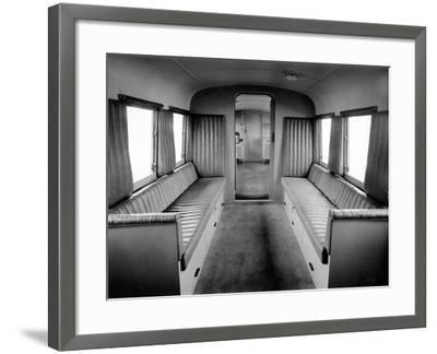 'Twynomatic' Military Rail-Scout Car, Bombay, India, C.1920-51--Framed Photographic Print