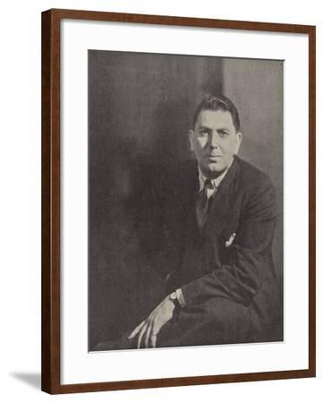 Hugh Ross Williamson, British Historian and Dramatist--Framed Photographic Print