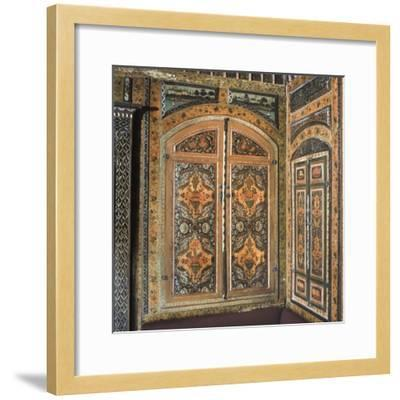 Period Room, from Damascus, Syria, Dating from 1711-12--Framed Photographic Print