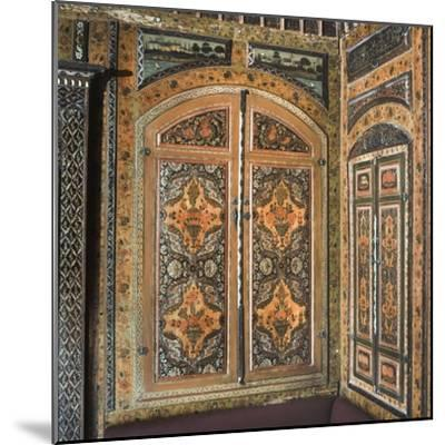Period Room, from Damascus, Syria, Dating from 1711-12--Mounted Photographic Print