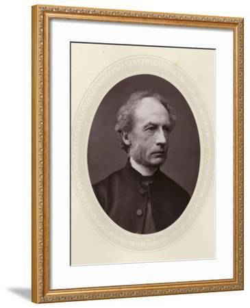 Charles Ellicott, English Theologian and Bishop of Gloucester and Bristol--Framed Photographic Print