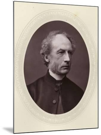 Charles Ellicott, English Theologian and Bishop of Gloucester and Bristol--Mounted Photographic Print