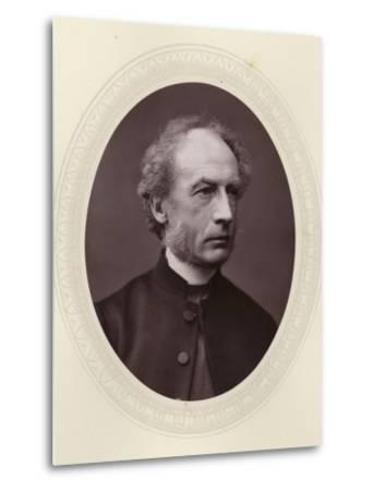 Charles Ellicott, English Theologian and Bishop of Gloucester and Bristol--Metal Print