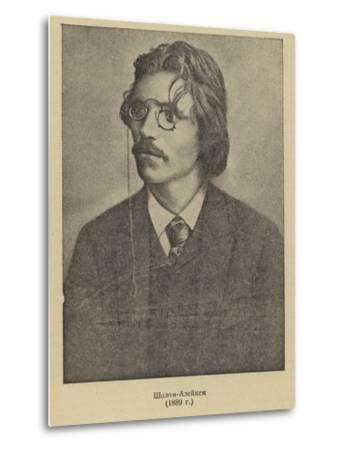 Sholem Aleichem, Russian Yiddish Author and Playwright--Metal Print