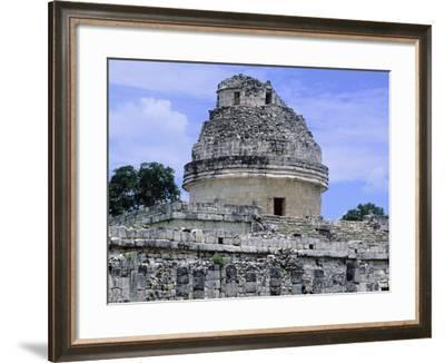 The Astronomical Observatory known as Caracol, Chichen Itza--Framed Photographic Print