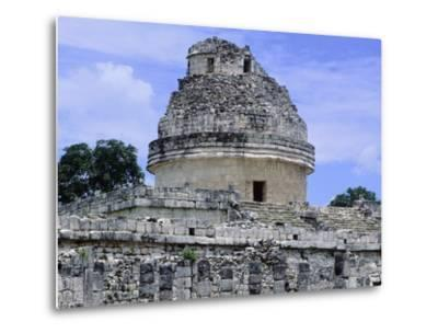 The Astronomical Observatory known as Caracol, Chichen Itza--Metal Print