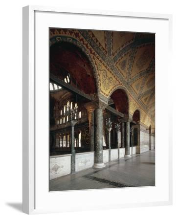 Forum of Emperors, Hagia Sophia, Historic Areas of Istanbul--Framed Photographic Print