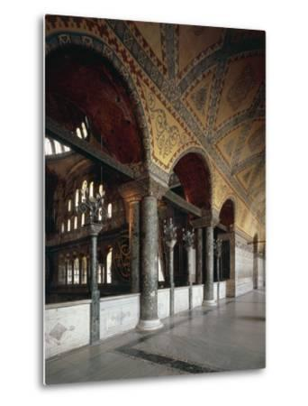 Forum of Emperors, Hagia Sophia, Historic Areas of Istanbul--Metal Print