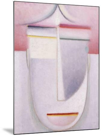 Abstract Head: Composition No 2 'Winter'; Abstraker Kopf: Komposition Nr 2 'Winter', C.1924-Alexej Von Jawlensky-Mounted Giclee Print