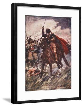 Through their Ranks Rode Wallenstein-Arthur C. Michael-Framed Giclee Print