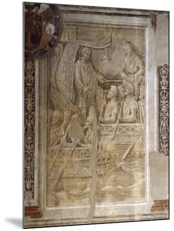 Trajan's Departure on Second Dacian Campaign, Scene from Cycle on Trajan's Column, 1511-1513-Baldassare Peruzzi-Mounted Giclee Print