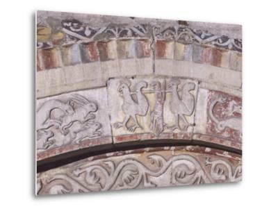 Relief Decorated Archvolt with Imaginary Animals, 1225-Adamino Di San Giorgio-Metal Print