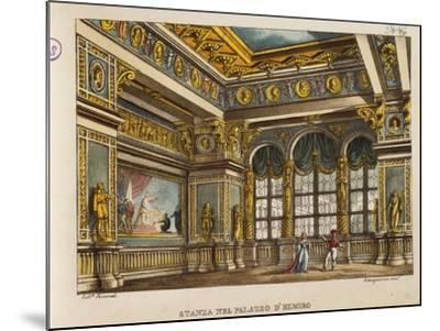 Room in the Palace of Elmiro, from 'Othello'-Alessandro Sanquirico-Mounted Giclee Print